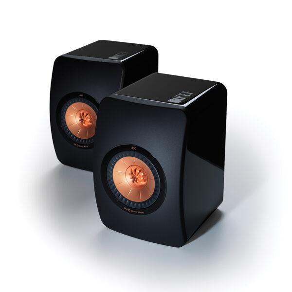 KEF Audio LS50 Monitors (Black) | Unilet Sound & Vision