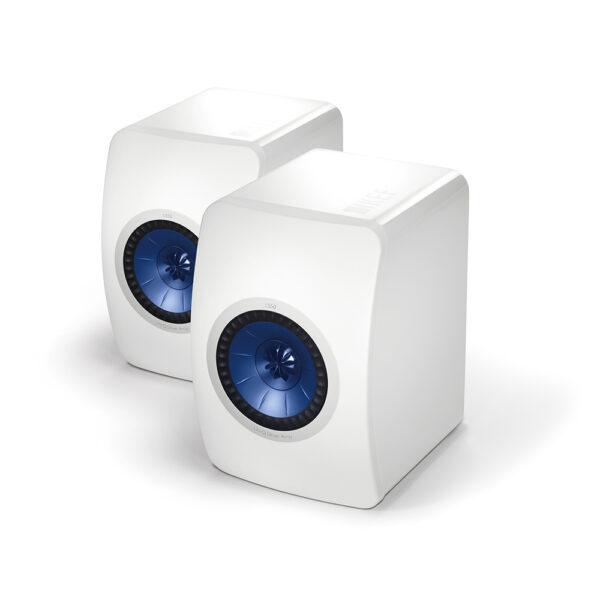 KEF Audio LS50 Monitors (White) | Unilet Sound & Vision