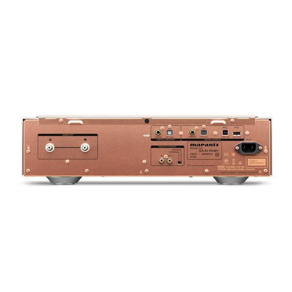 Marantz SA-KI Ruby SACD / CD Player (Rear View)  Unilet Sound & Vision