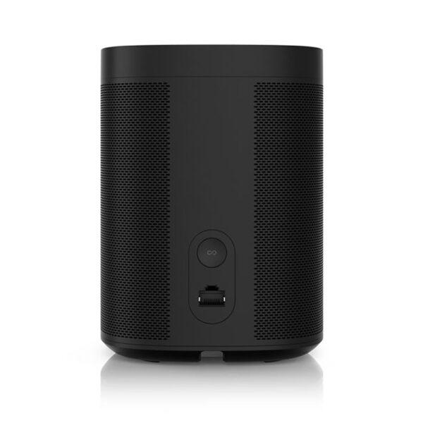 Sonos One Smart Speaker (Black, Rear) | Unilet Sound & Vision