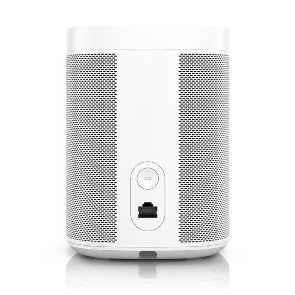 Sonos One Smart Speaker (White, Rear) | Unilet Sound & Vision