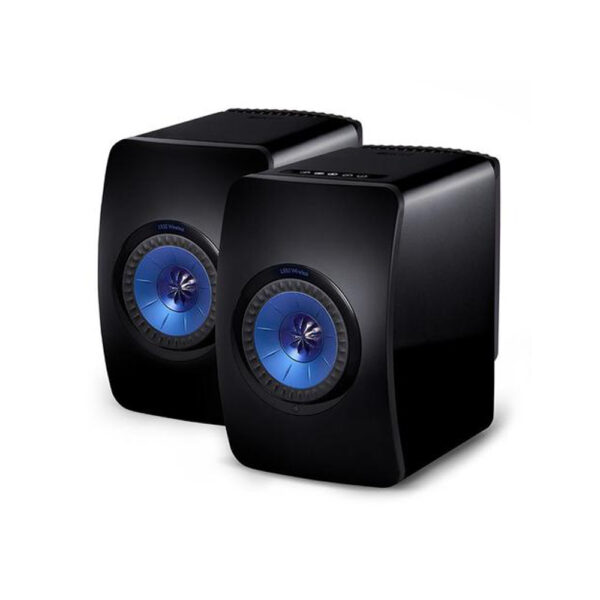 KEF Audio LS50 Wireless Loudspeakers (Black/Blue) | Unilet Sound & Vision