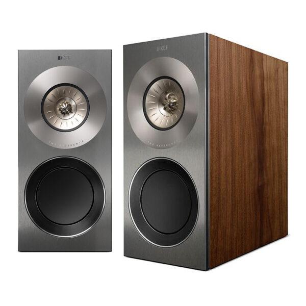 KEF Reference 1 Loudspeaker (Walnut) | Unilet Sound & Vision