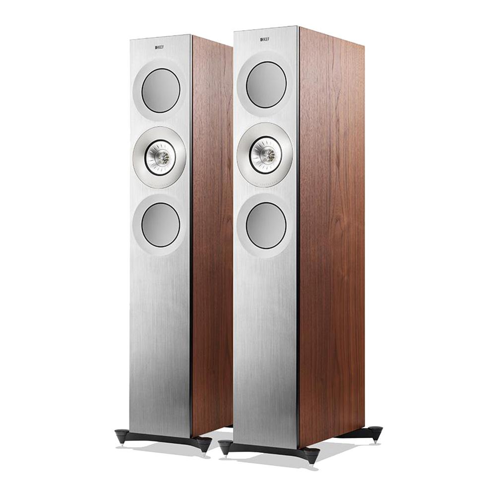 KEF Reference 3 Loudspeaker (Silver Satin Walnut) | Unilet Sound & Vision