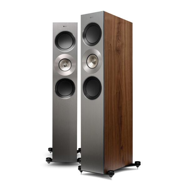 KEF Reference 3 Loudspeaker (Walnut) | Unilet Sound & Vision