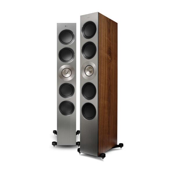 KEF Reference 5 Loudspeaker (Walnut) | Unilet Sound & Vision