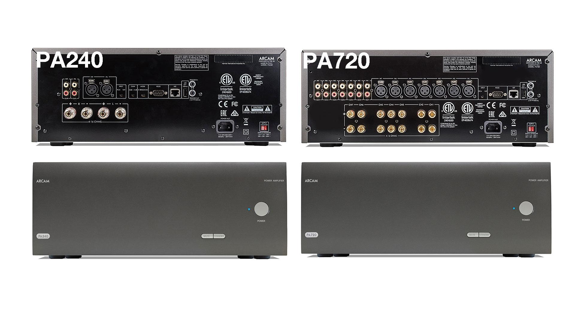 New Arcam Power Amplifiers | Unilet Sound & Vision
