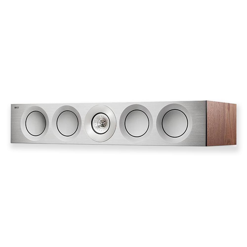 KEF Reference 4c Centre Loudspeaker (Silver Satin Walnut) | Unilet Sound & Vision
