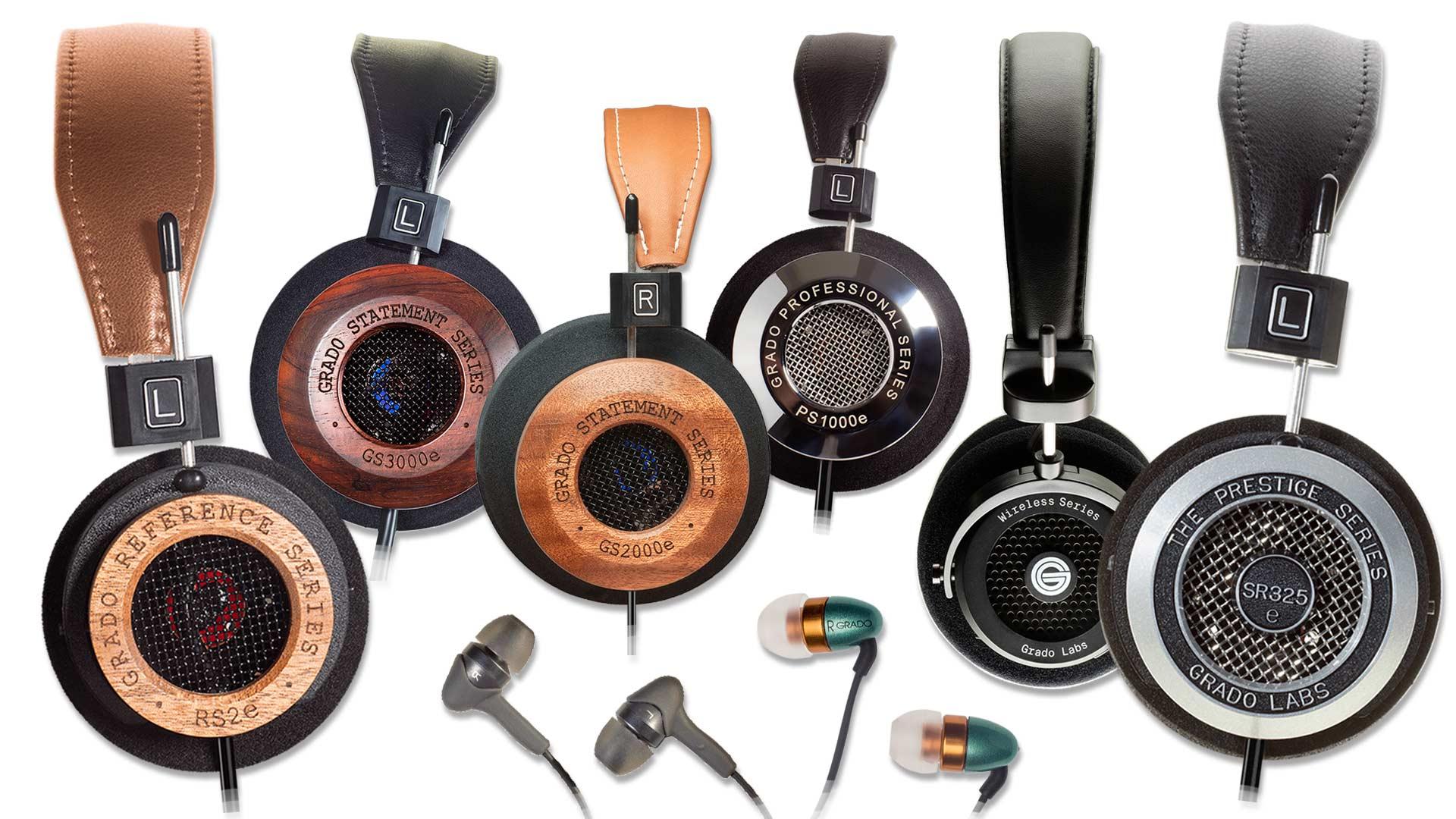Full Grado Labs Product Range | Unilet Sound & Vision