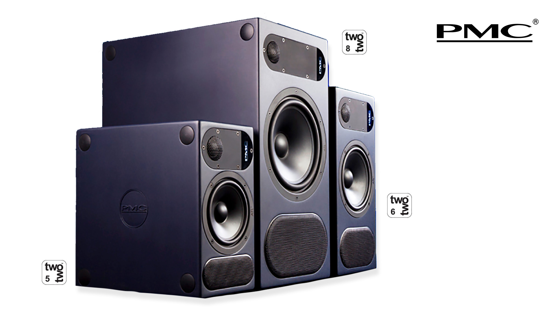 PMC twotwo Series Active Nearfield Studio Monitors | Unilet Sound & Vision