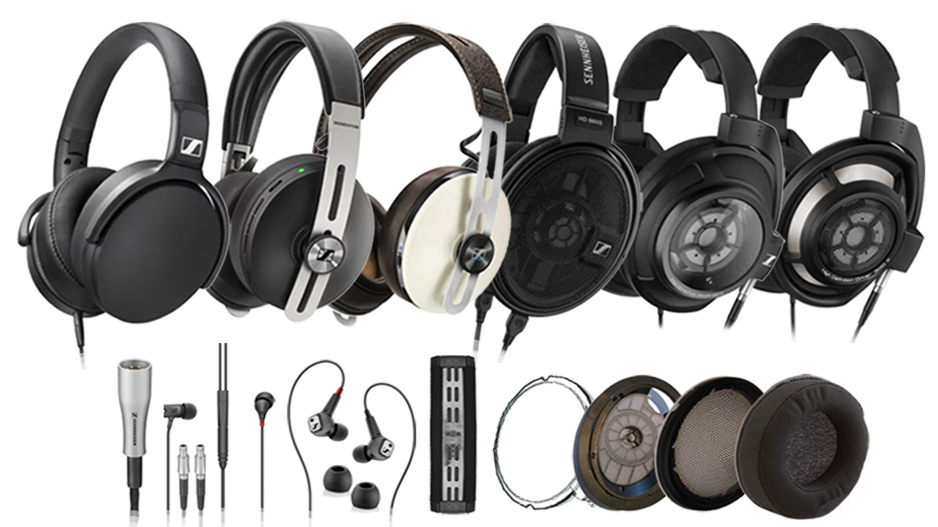 Full Sennheiser Range Available | Unilet Sound & Vision