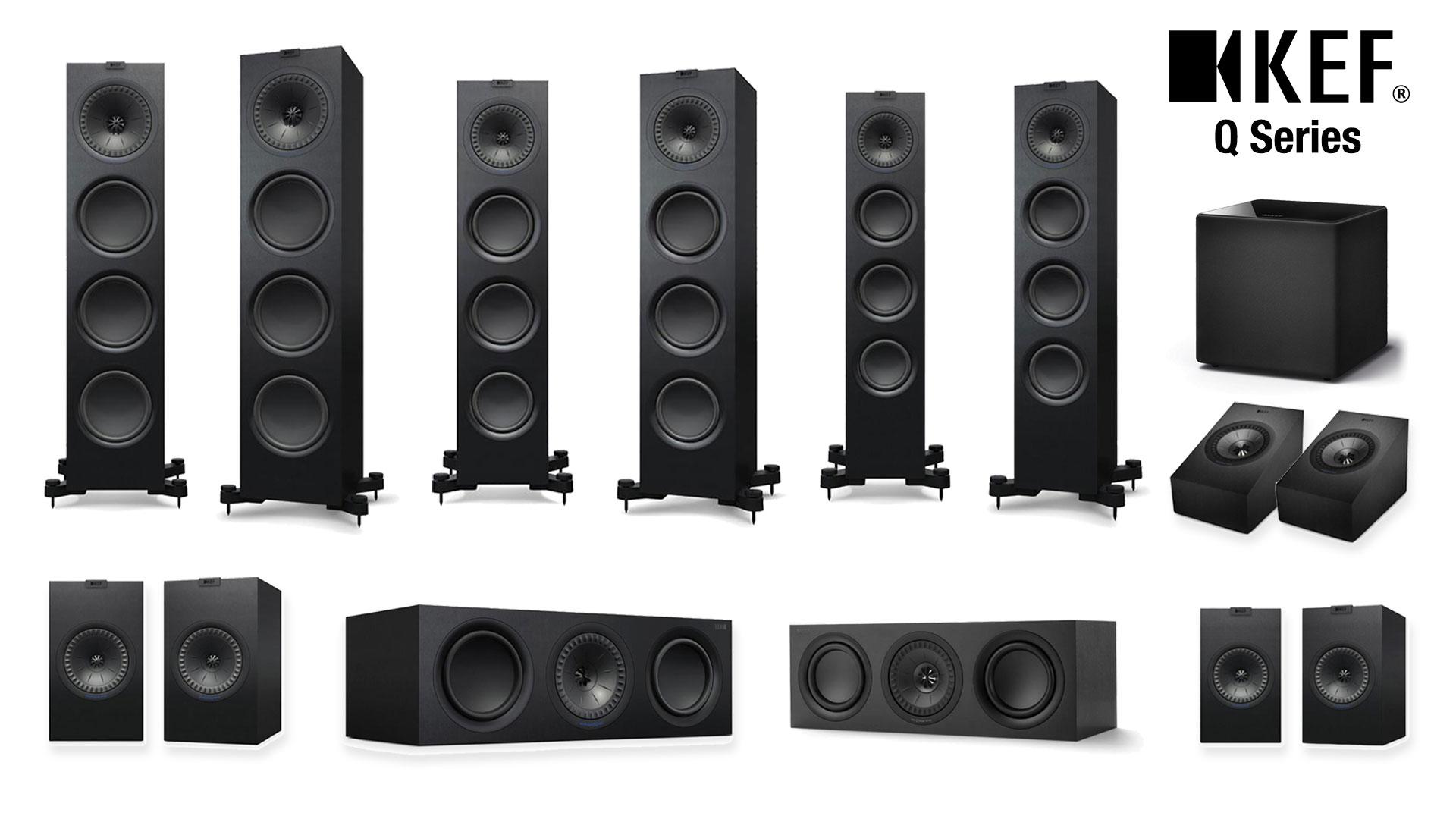 KEF Q Series Range | Unilet Sound & Vision