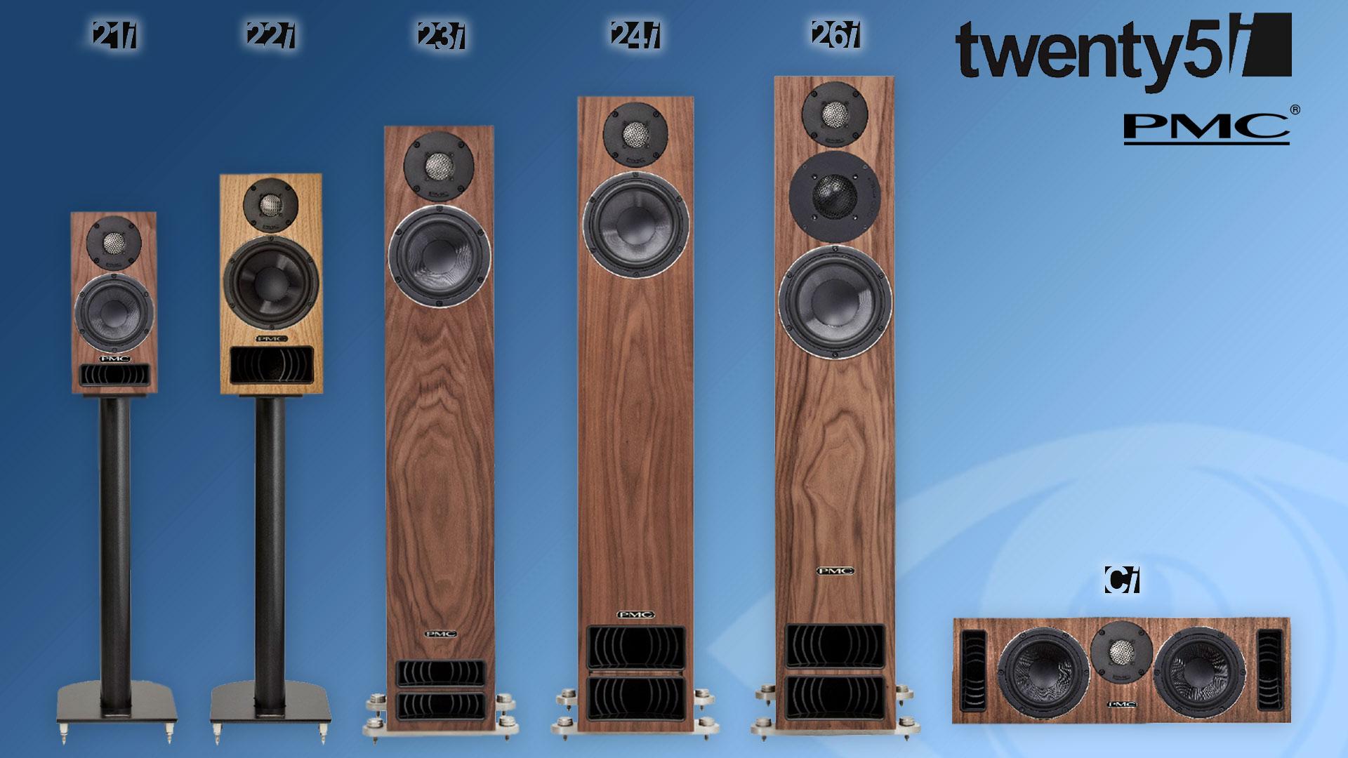 PMC Twenty5i Loudspeakers Range | Unilet Sound & Vision