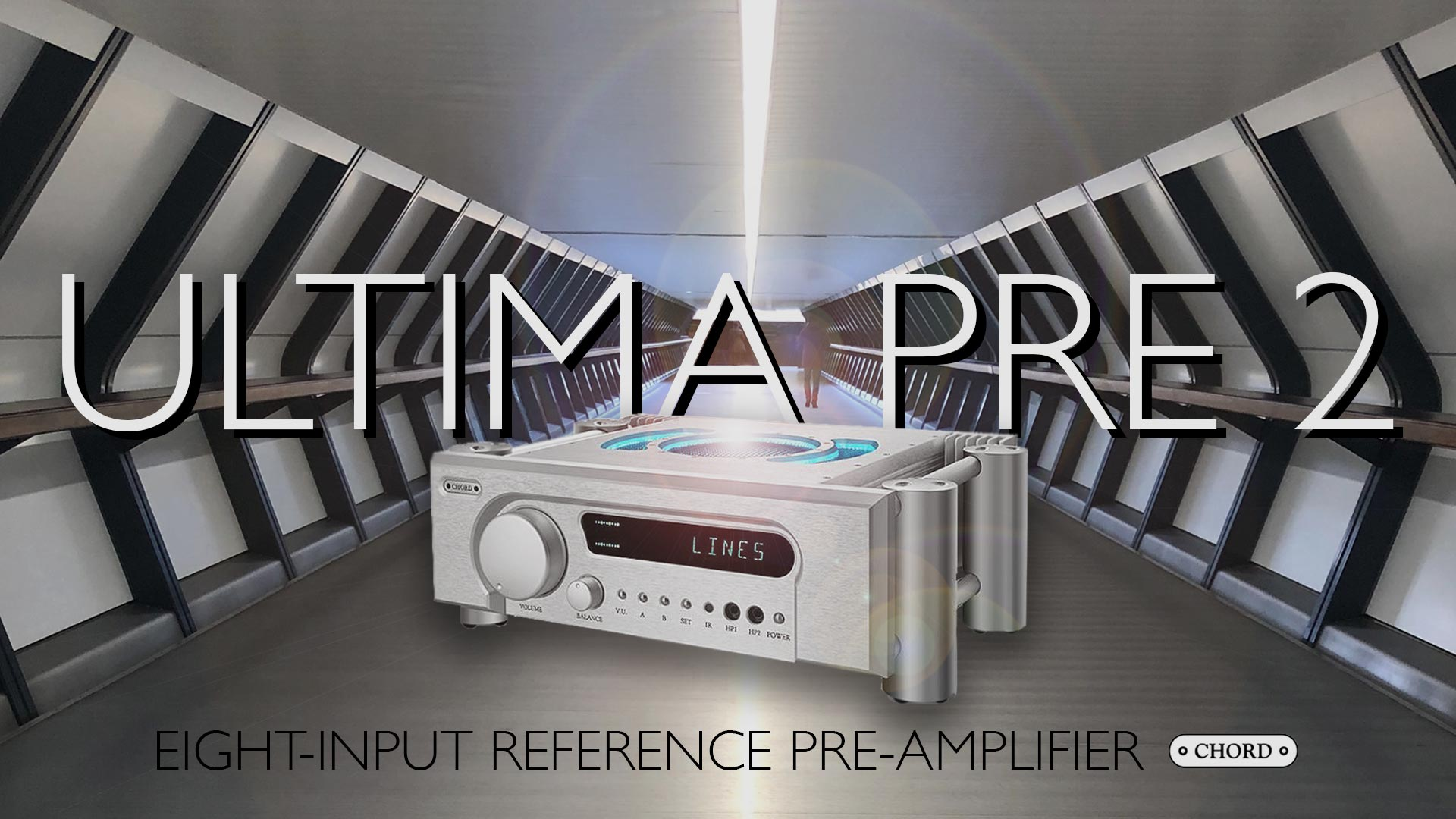 Chord Electronics Ultima Pre 2 Reference Preamplifier | Unilet Sound & Vision