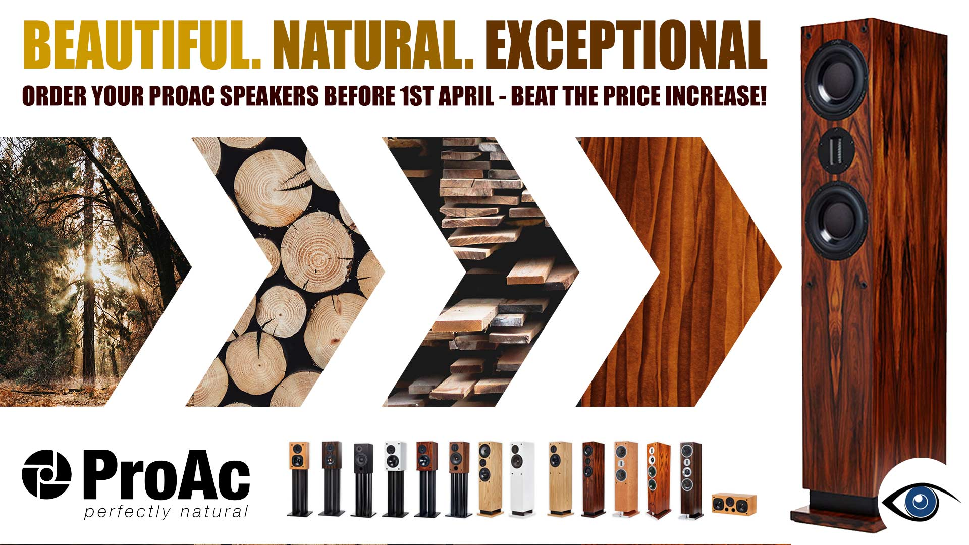 Order Your ProAC Speakers Before 1st April 2020 | Unilet Sound & Vision