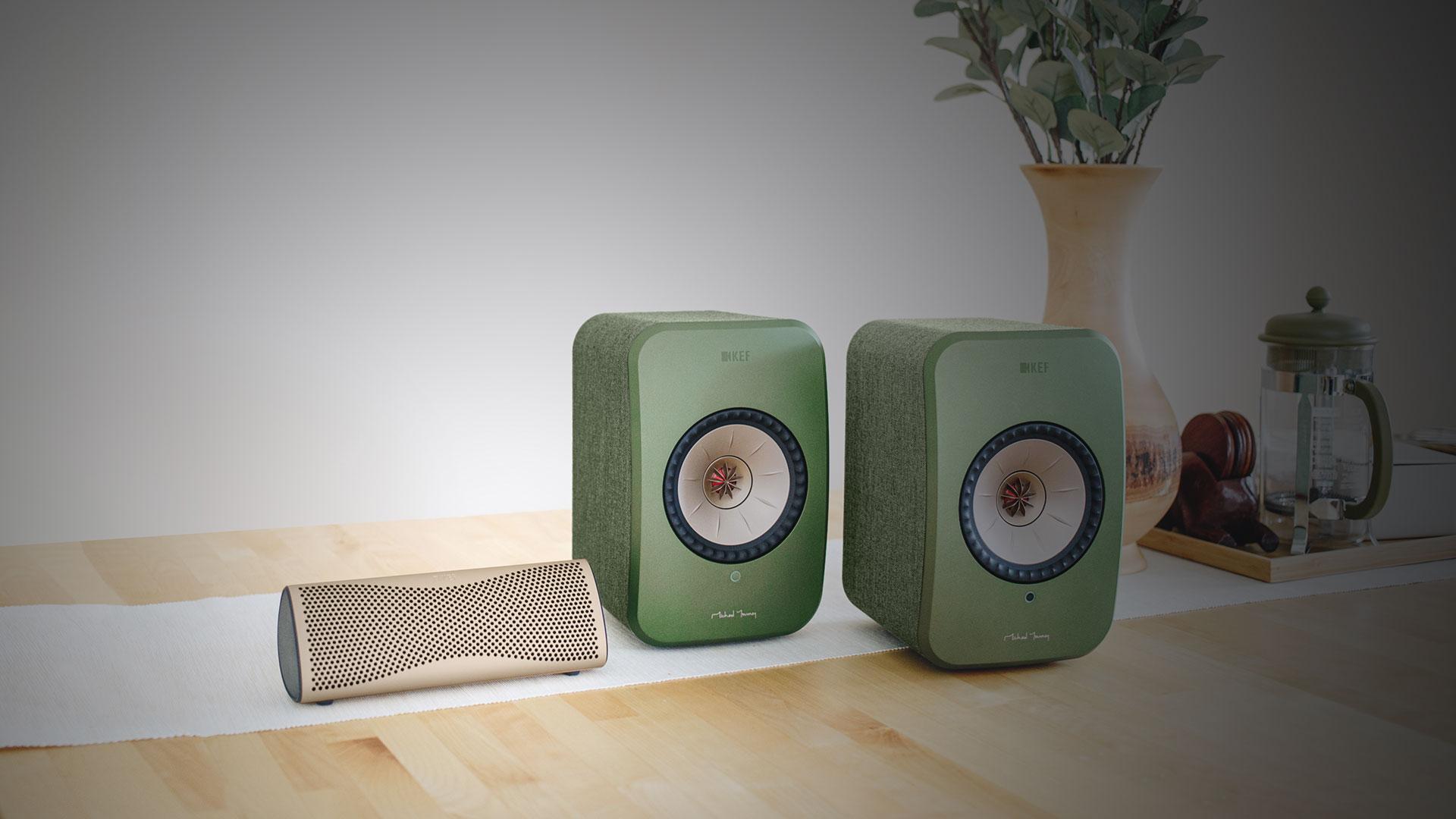Buy KEF LSX, Get KEF MUO Free | Unilet Sound & Vision