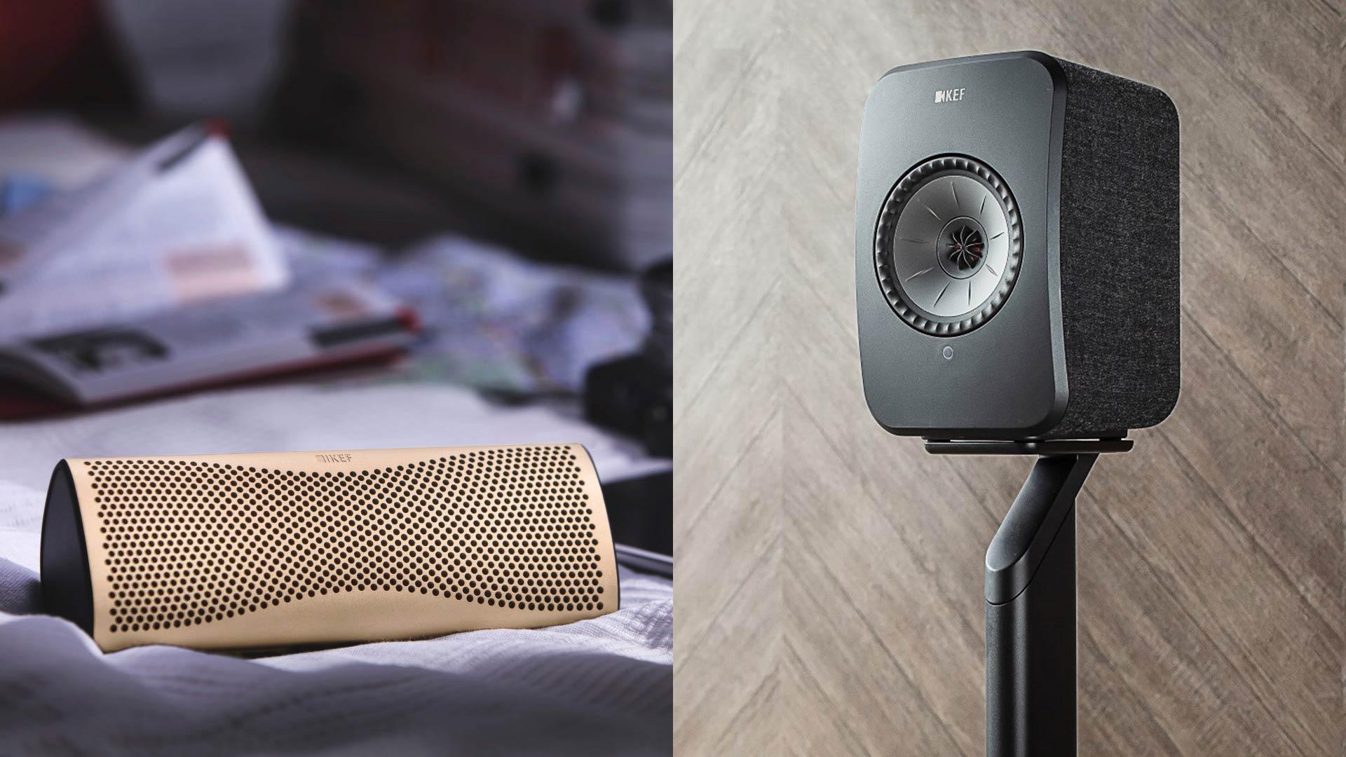 Buy KEF LSX, Get KEF MUO Free   Unilet Sound & Vision