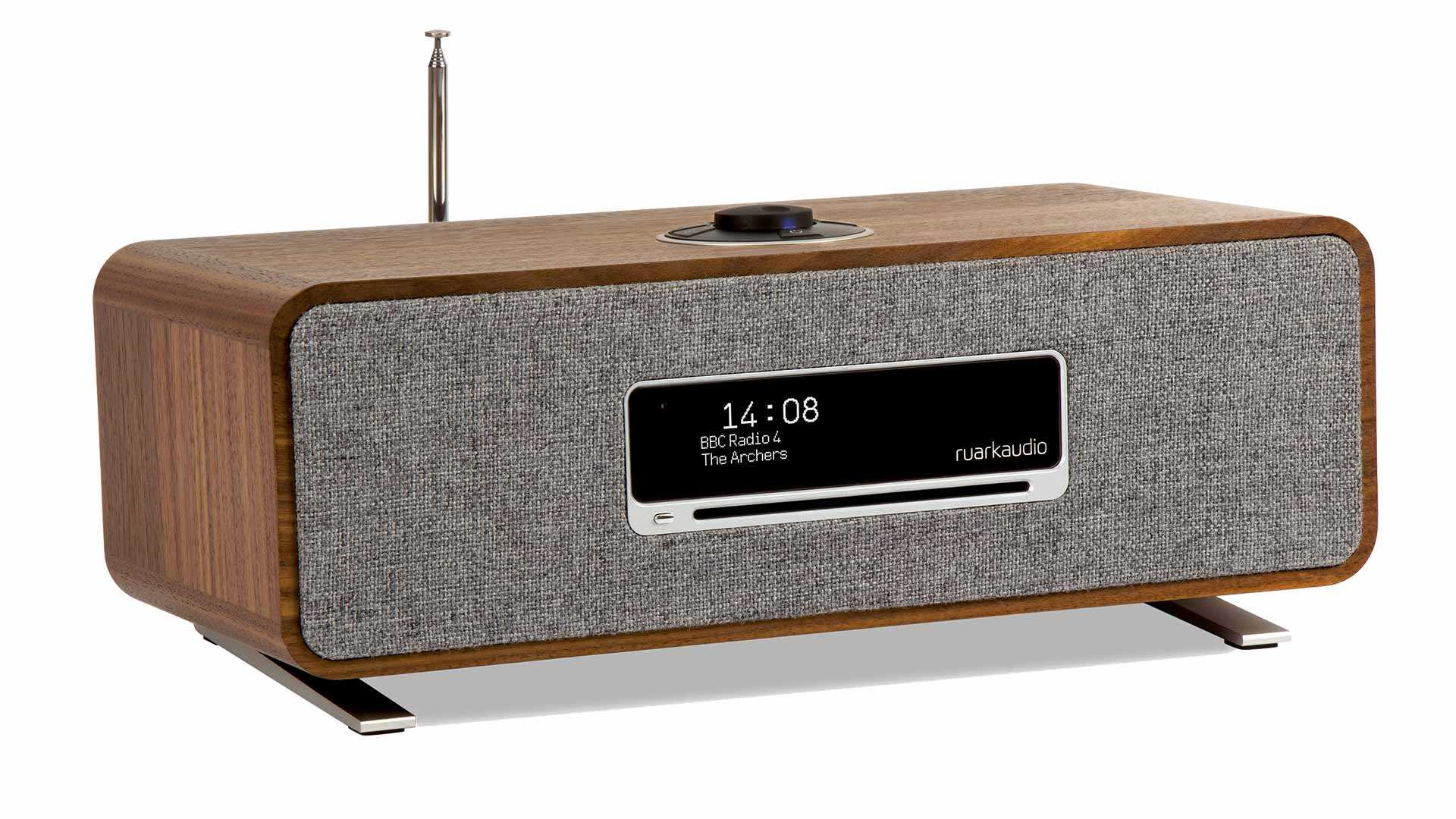 Ruark Audio R3 Compact Music System, in Walnut finish | Unilet Sound & Vision