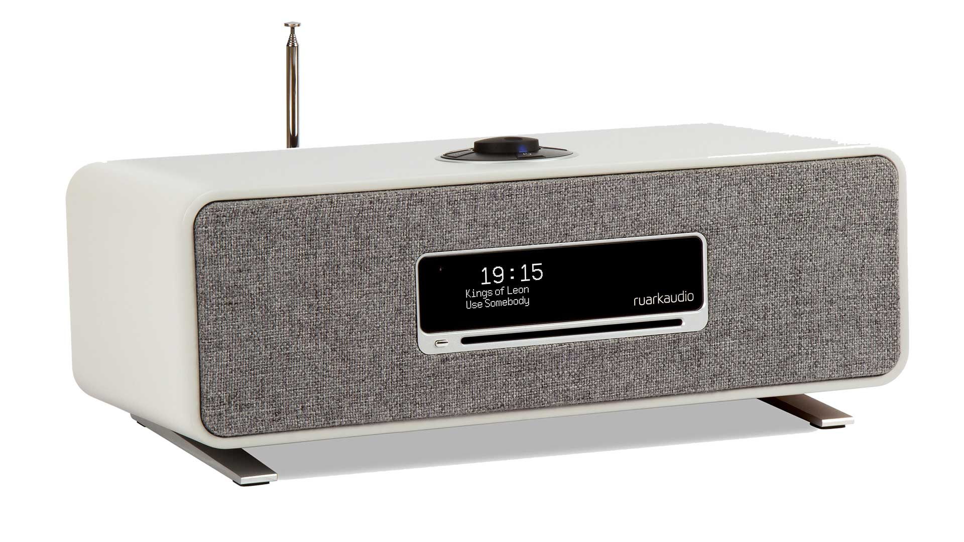 Ruark Audio R3 Compact Music System, in White finish | Unilet Sound & Vision