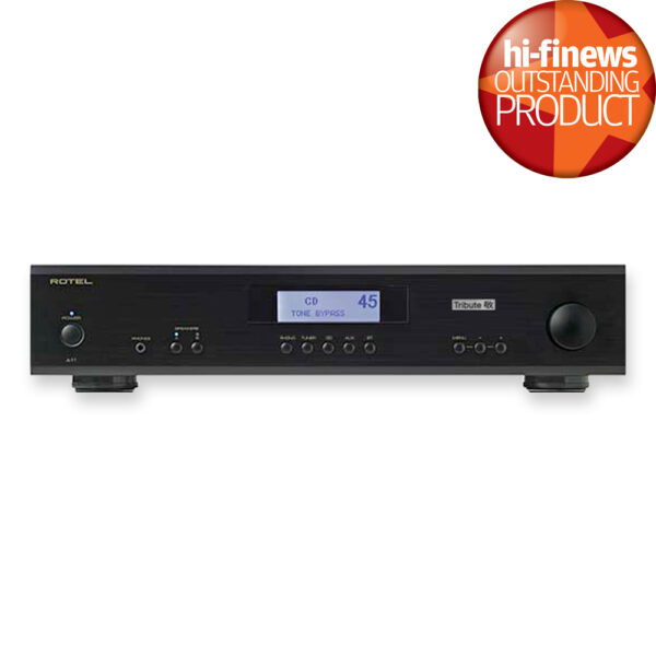Rotel A11 Tribute Integrated Amplifier | Hi-Fi News Outstanding Product | Unilet Sound & Vision