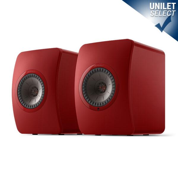 KEF LS50 Wireless II Hi-Fi Loudspeakers | Unilet Sound & Vision