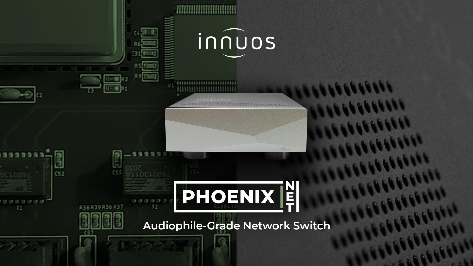 Innuos PhoenixNET Network Switch | Unilet Sound & Vision