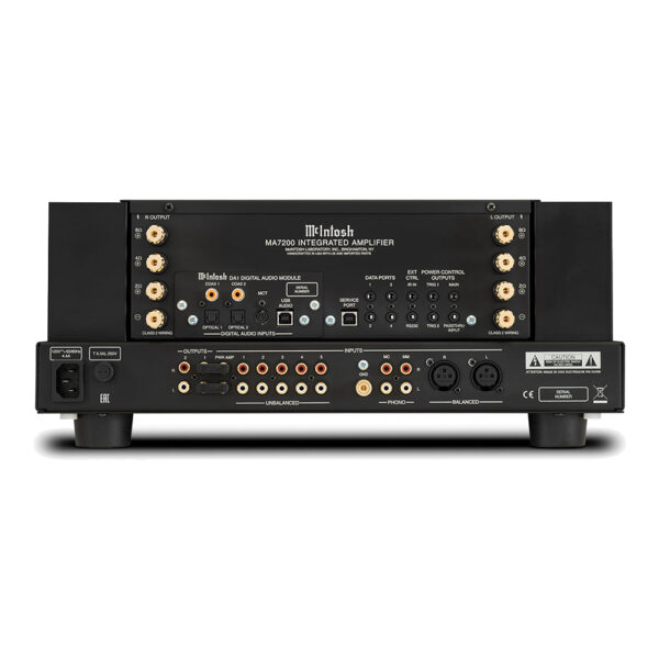 McIntosh MA7200 Integrated Amplifier | Unilet Sound & Vision