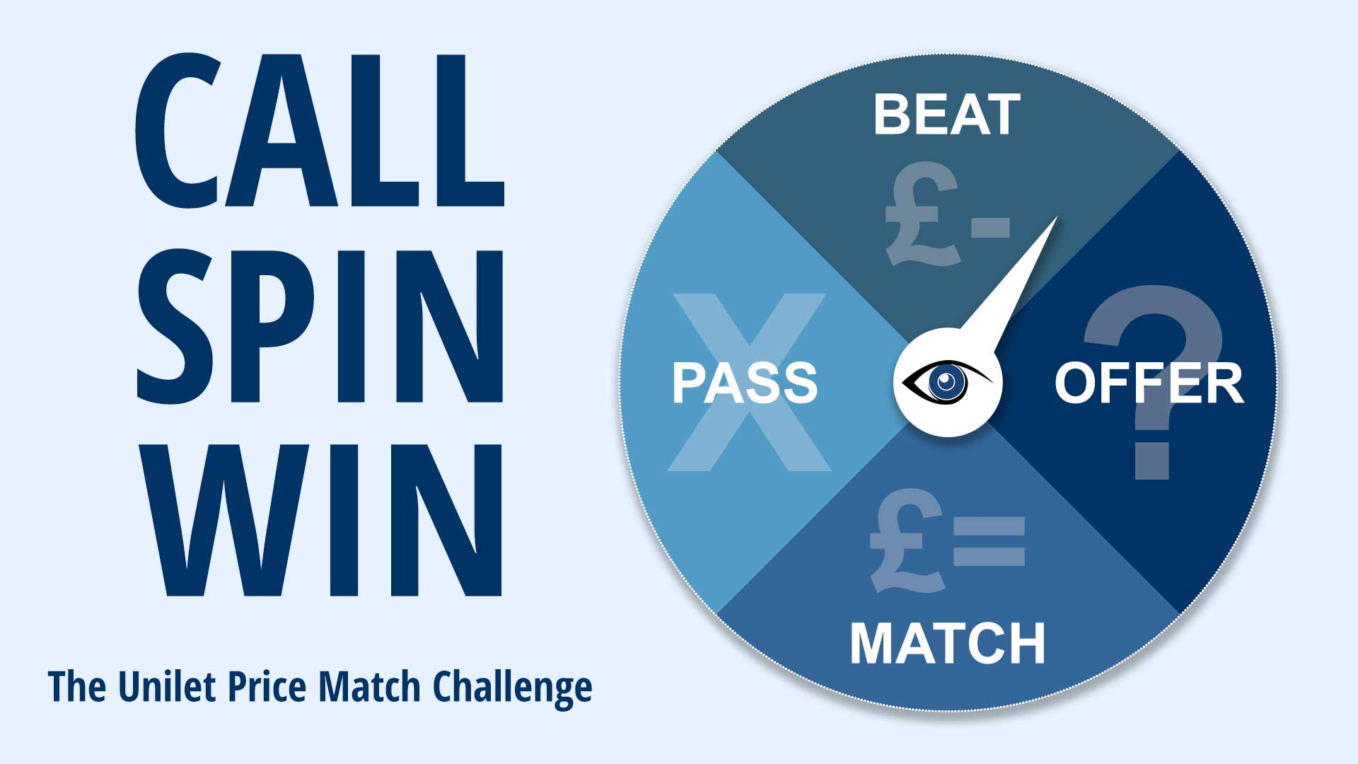 Call - Spin - Win | Unilet Price Match Challenge