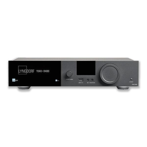 Lyngdorf TDAI-3400 Streaming Amplifier & AV Processor | Unilet Sound & Vision