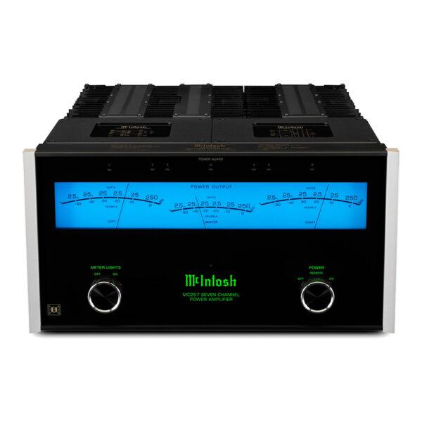 McIntosh MC257 7-Channel Home Theatre Power Amplifier   Unilet Sound & Vision