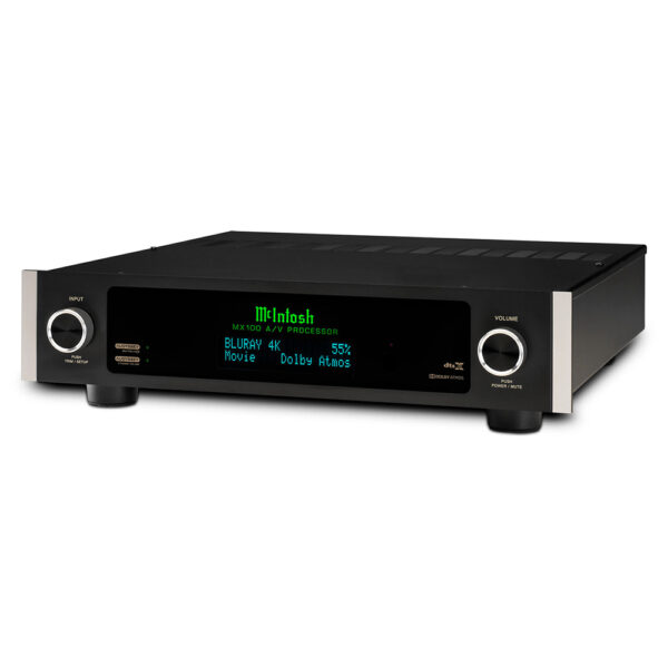 McIntosh MX100 AV Processor | Unilet Sound & Vision