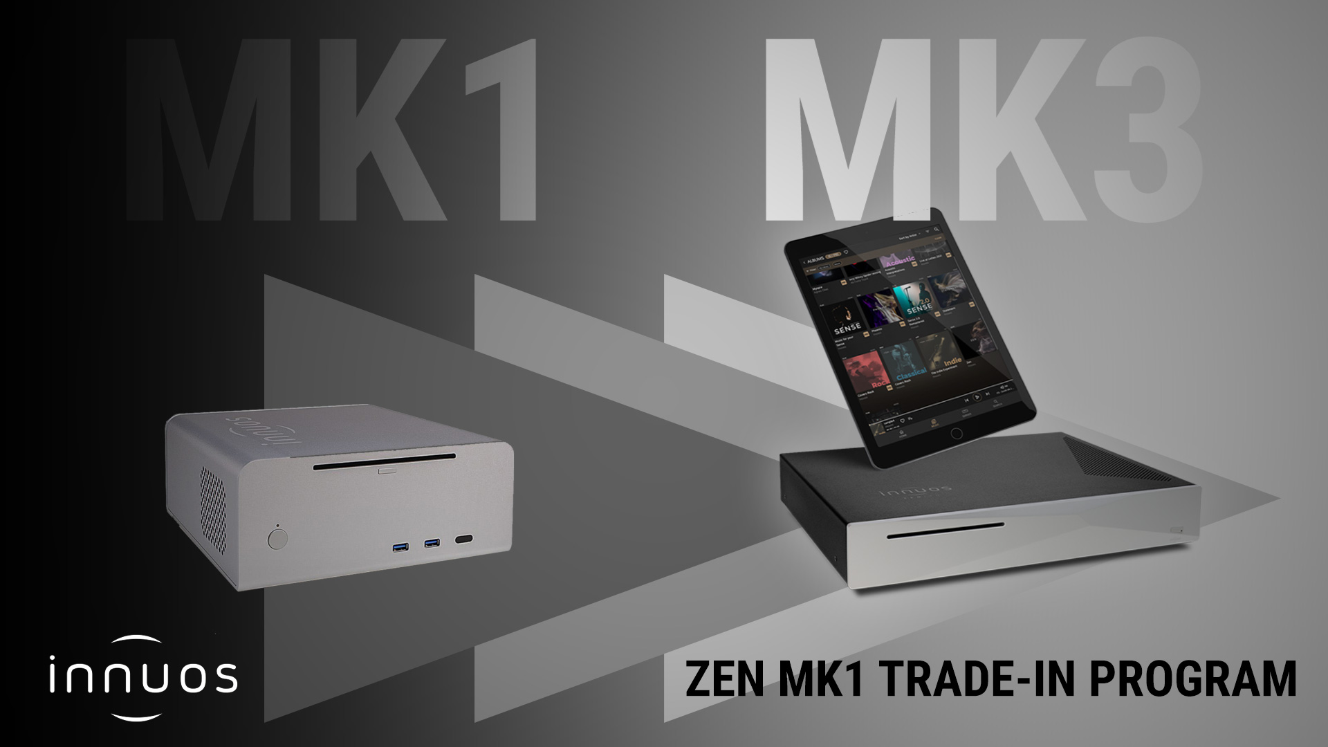 Innuos ZEN MK1 - MK3 Trade-In Program | Unilet Sound & Vision